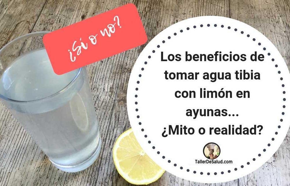 Los beneficios de tomar agua tibia con limón en ayunas… ¿Mito o realidad?