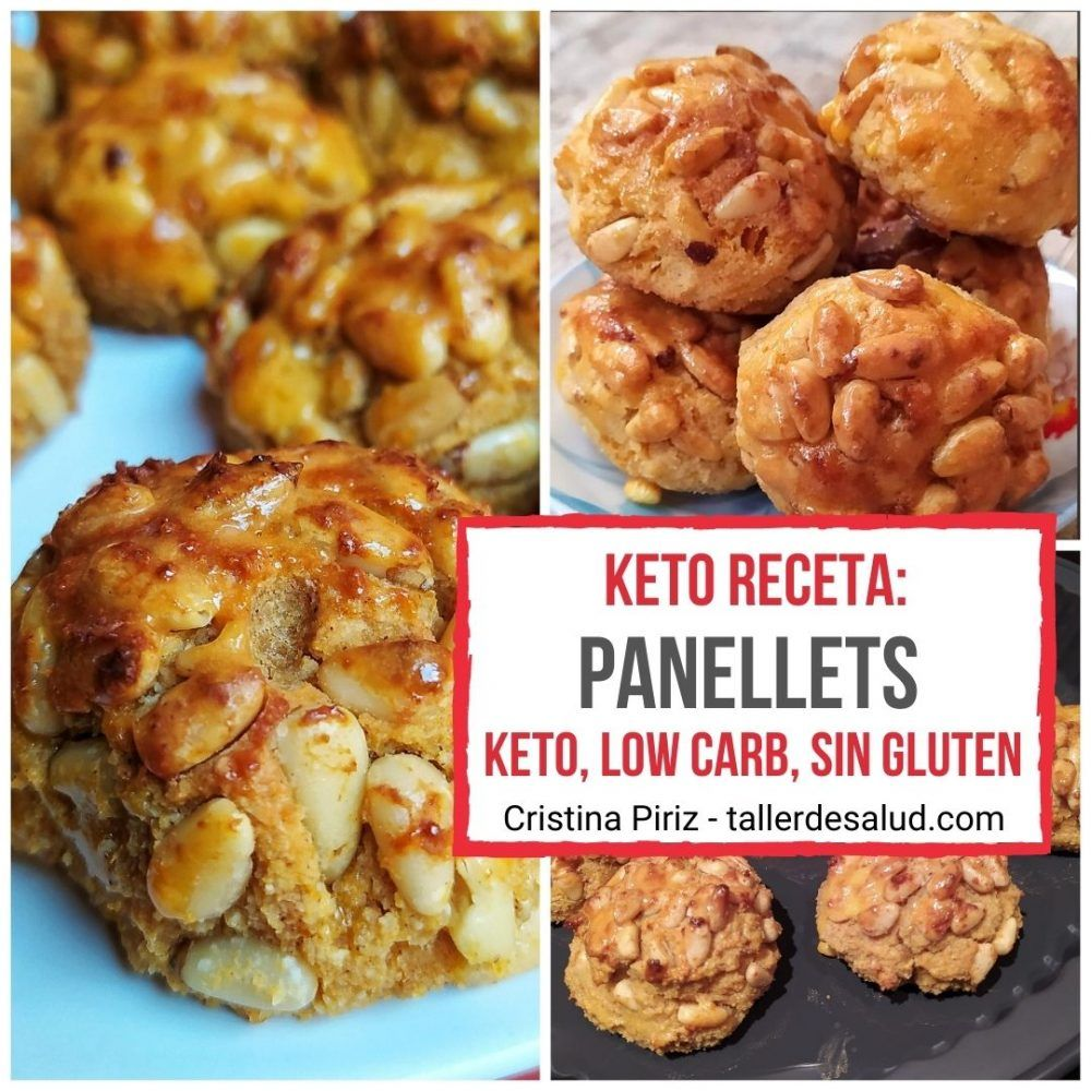 Keto receta: Panellets – Dulce Tradicional de Todos los Santos – Receta Keto / Low Carb / Sin Gluten / Sin Azúcar