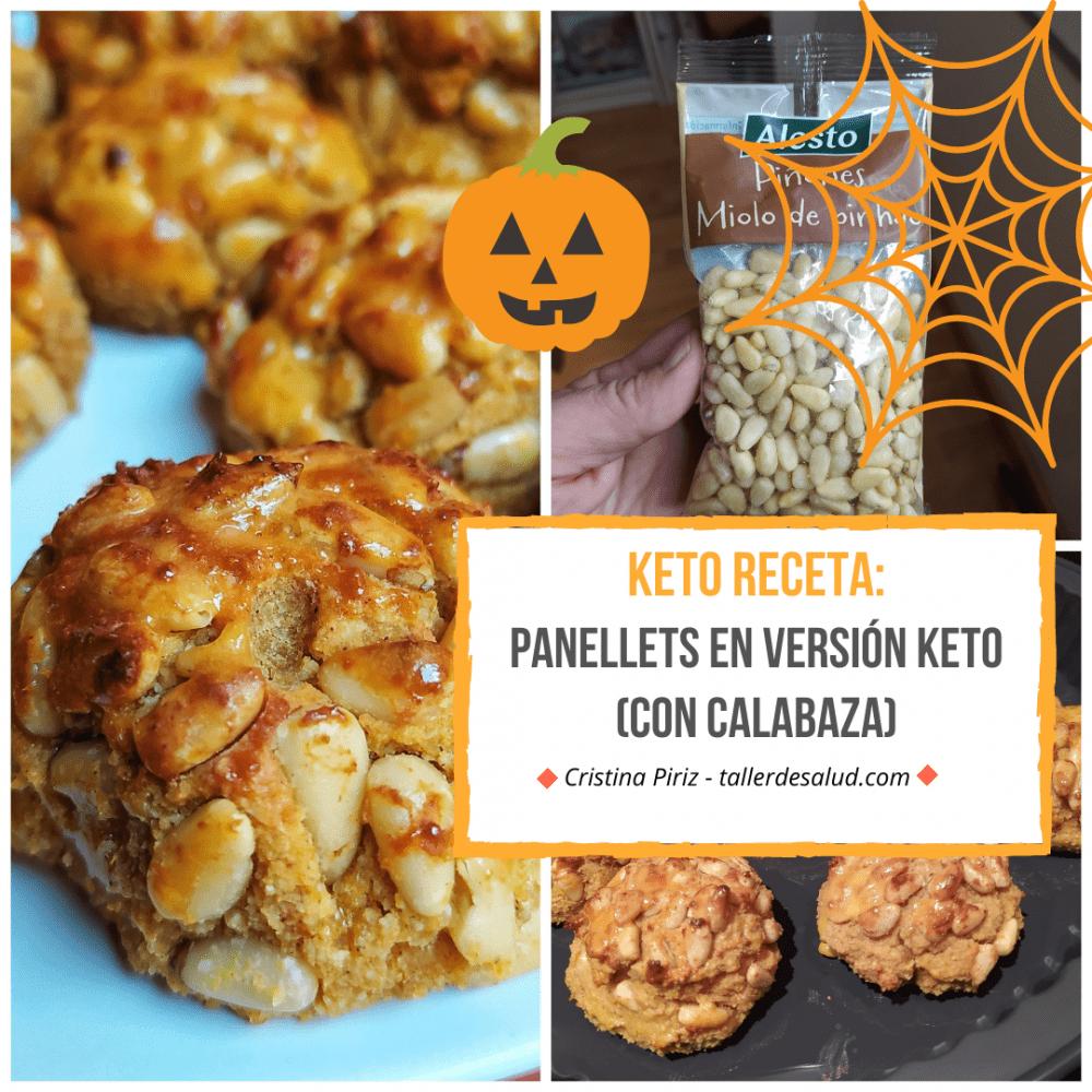 Keto receta: Panellets (con base de calabaza), versión keto del tradicional postre catalán de Todos los Santos