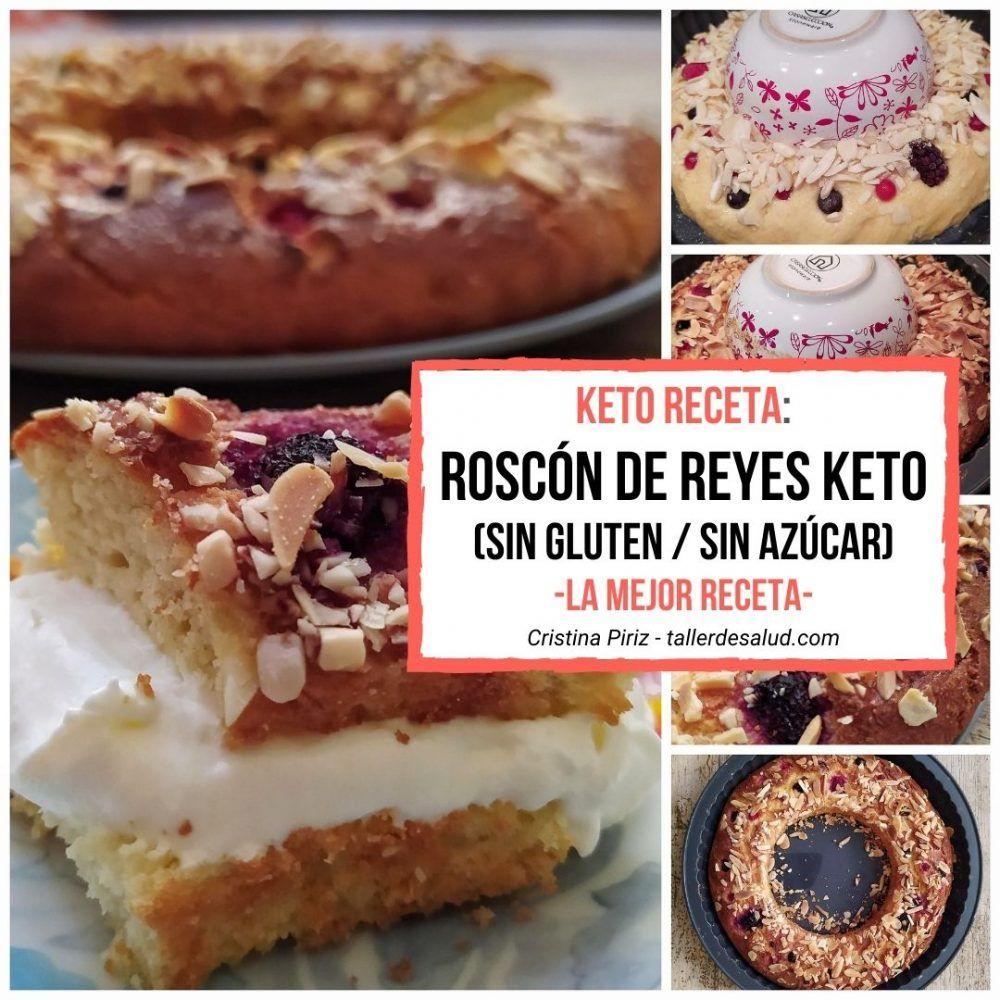 Keto Receta Roscón De Reyes Keto Sin Gluten Sin Azúcar La Mejor Receta