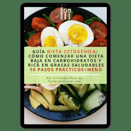 dieta cetogenica guia gratuita descarga inmediata menu recetas consejos