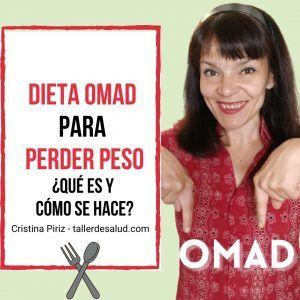 Como hacer dieta protocolo OMAD comer una sola vez al dia perder peso ganar salud adelgazar ayuno intermitente