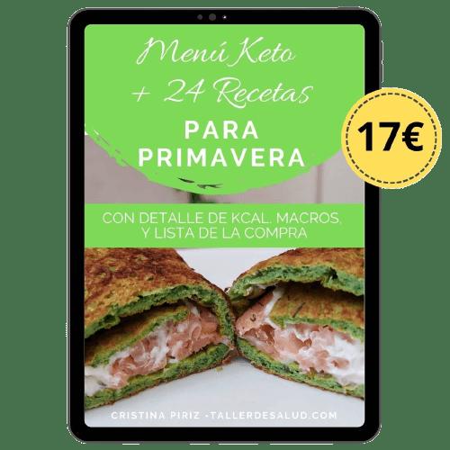 menu dieta keto cetogenica con recetas para descargar macros calorias gramos completo semana