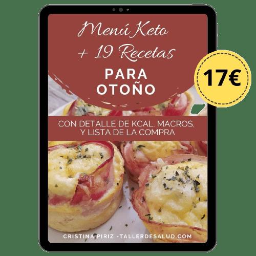 menu keto para descargar pdf recetas dieta cetogenica facil kcal macros detalles gramos