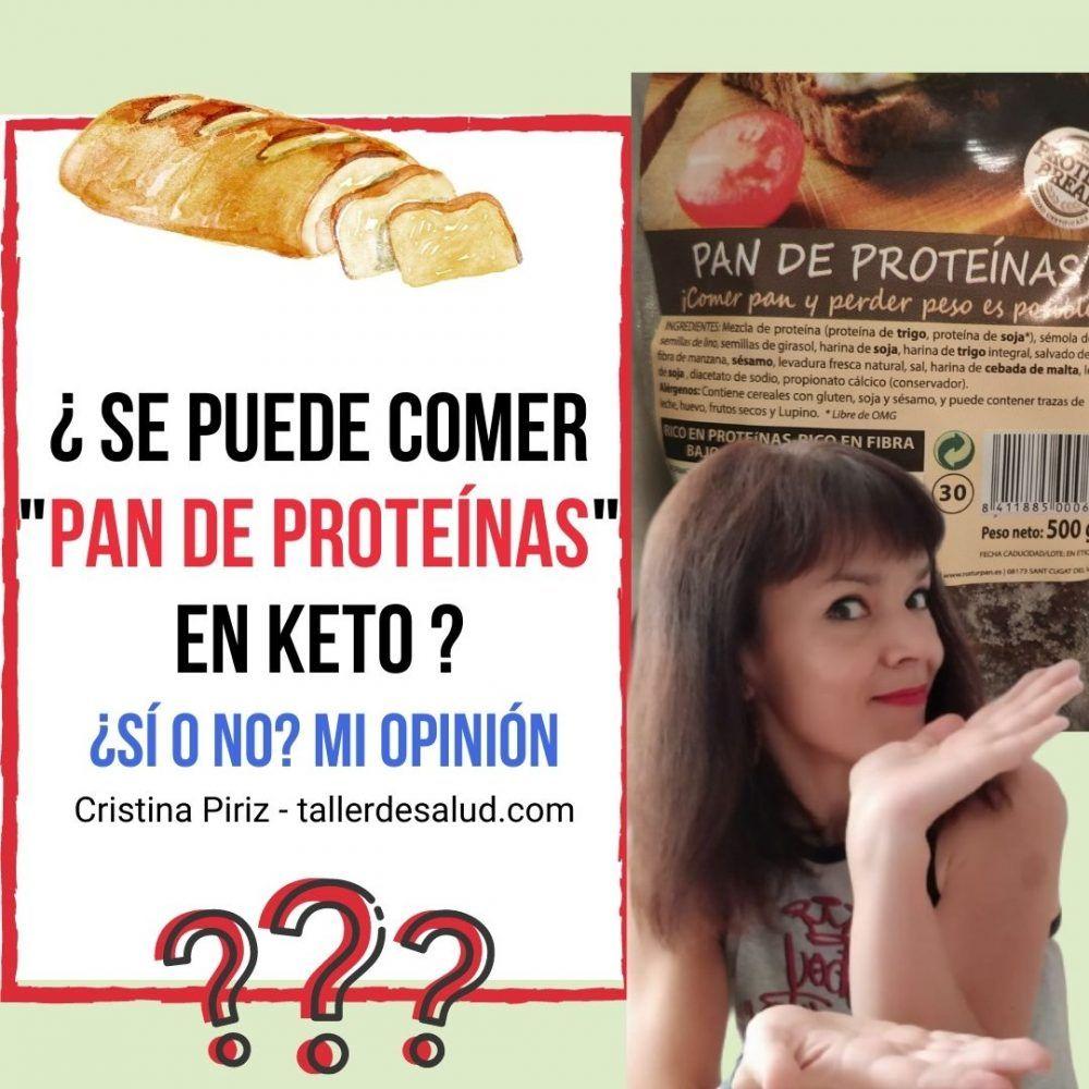 Pan «de proteínas» de supermercado ¿Puedo comerlo dentro de la Keto?
